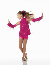 Lets Get Crazy Dance Costume Shorts,Top,Sleeves,Hair Tie Clearance Adult Large