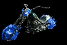 1/6 ZY TOYS Ghost Rider Motorcycle Hell Blue Blaze W/LED Light F/figure Model