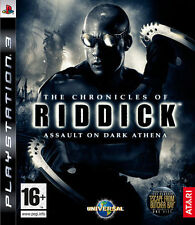 The Chronicles Of Riddick: A. D. Athena PS3 - ITA - NUOVO - SIGILLATO [PS30257]