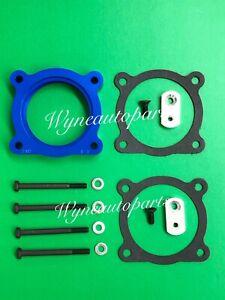 THROTLE BODY SPACER Fit 05-19 FRONTIER/XTERA/05-12 PATHFINDER/09-12 Suzuki Blue