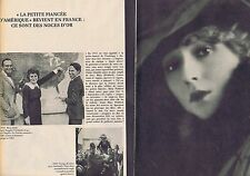 Coupure de presse Clipping 1965 Mary Pickford (4 pages)