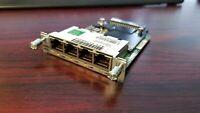 Cisco EHWIC-4ESG AS-IS  QTY AVL