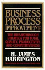 Business Process Improvement: The Breakthrough Strategy for Total-ExLibrary