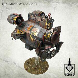 Orc Minelayer Kraft -Kromlech- Ork Mekboy Stompa Mek Boss Buzzgob Wooden Blimp