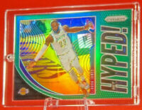 Get Hyped! Green Lebron James Lakers Jersey Super Rare Prism Refractor MVP 🔥