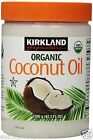 Kirkland Organic Coconut Oil Unrefined Virgin Cold Pressed 100% Pure 1.2g Tub