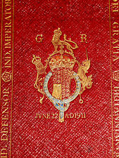 c1911 Book of Common Prayer HOLY BIBLE King George V ROYAL Fine Binding ENGLISH