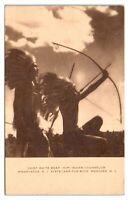 Chief White Bear, Hopi Indian Counselor, Camp Wawayanda, Andover, NJ Postcard