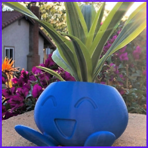 Succulent Flower Pots Planter Oddish Pokemon Dropshiping Blue DIY Decoration