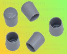 250 x Rundrohrkappe 12 mm grau UV-stabil - Kappen für Rundrohre 11,8 bis 12,8 mm