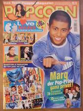POPCORN 12- 2003 (0) Popstars Busted No Angels Nemo RZA Beyoncé Bernd das Brot