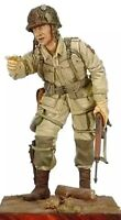 1/16 Resin Figure Model Kit US Soldiers 101st Airborne WWII WW2 Unpainted