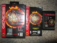 NBA Jam T.E.  (Sega Genesis, 1995) TE Tournament Edition Complete