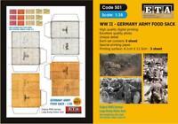 WW II GERMANY ARMY FOOD SACK  Suit scales 1/35
