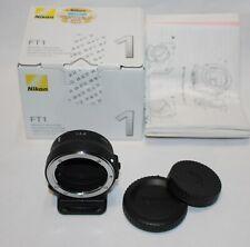 NEW Nikon FT1 Mount Adapter ( NIKON F Mount Lens to Nikon 1 Mirrorless)