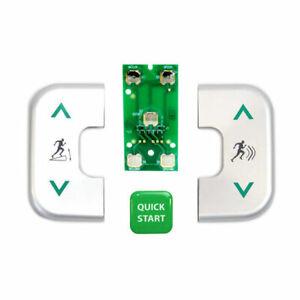 Precor Console D-Pad Rebuild Kit for Ellipticals (EFX 546i, 556i, 576i)