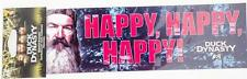 """New A&E Duck Dynasty Bumper Sicker Decal Happy Uncle Si Authentic Car 3""""x11"""""""