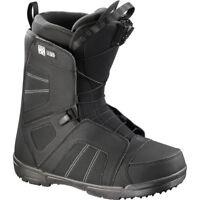 Scarponi Snowboard Boot SALOMON TITAN Black 2018
