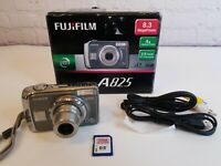 Fujifilm FinePix A825 Camera 8.3 Mega Pixels Works Great