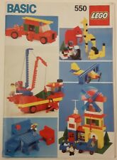 Lego 557 BASIC BUILDING SET Complete w/Instructions