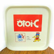 Vintage Serving Tray 1984 LA Olympic Games Chinese Restaurant Food National