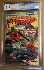 Amazing Spider-man # 147 CGC 6.5 White Pages