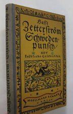 Swedish Punch 20 Cheerful Stories German Text Schwedenpunsch Illus. Humor 1925