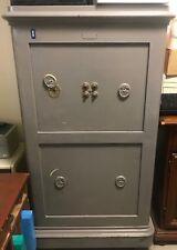 Coffre fort Bauche Ancien Double Compartiment Combinaison et clé