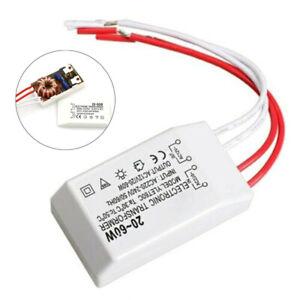 Transformateur LED Pilote Driver 220V À DC12V 20-60W Halogène