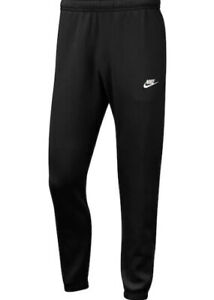 Mens Genuine Nike Black Jog Bottoms Sweatpants - L, XL -  CLEARANCE