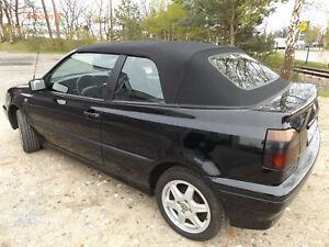 VW Golf 3 Cabrioverdeck - Stoff schwarz (Baujahr 94-00)