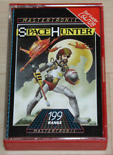Mastertronic Space Hunter Kassette Tape Commodore 64 C64 funktioniert