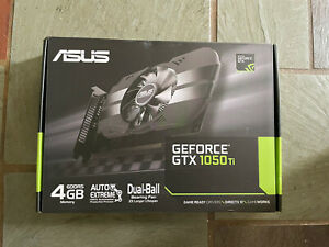 ASUS Phoenix GeForce GTX 1050 Ti 4GB GDDR5 Gaming Graphics Card 🚨SHIPS TODAY🚨