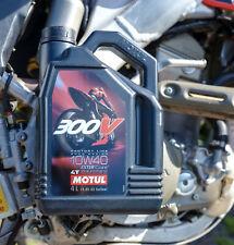 Motul 300V 10W40 4 Takt Öl 4 L vollsynthetisch @KTM Husqvarna gratis Handschuhe