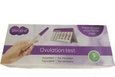 Ovulation Test Urine Strip Test 5 tests Lifecare Pregnancy Ovulation Fertile