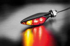 KELLERMANN Rhombus S DF LED Blinker Bremslicht Rücklicht Dark Schwarz signals