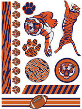 Tiger Football Temporary Tattoo