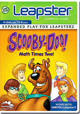 Leapfrog Leapster: Scooby - Doo Math Times Two NEW!