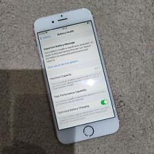 Apple iPhone 6s 32GB (Unlocked)  - Rose Gold - cracked screen