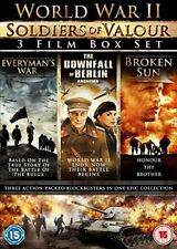World War II Soldiers Of Valour- 3 Film Boxset [DVD]