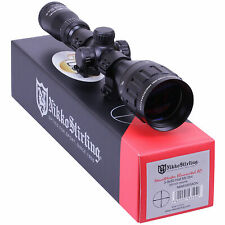 Nikko Mountmaster 3-9x50 Illuminated PX AO Rifle SCOPE Sight + 11mm Mounts