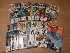 Fantastic Four Vol. 1 :  300 - 324 (1961), average  VFN / NM, US Originale