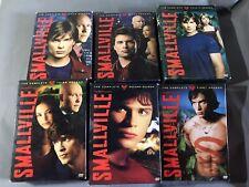 Smallville Dvd Complete Season 1 2 3 4 5 6 Tv Series 1-6 Box Sets Wb Movies