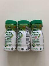3 BENEFIBER HEALTHY BALANCE CLEAR & TASTE FREE 3.5 OZ EACH - EXP: 12/20 ,6/21