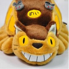 "12"" My Neighbor Totoro Cat Bus Plush Doll Catbus Soft Toy Stuffed Pillow Gifts"