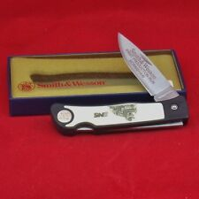 Smith & Wesson First Production Run Norfolk Southern Scrimshaw Pocket Knife