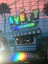 RARE The Avett Brothers FOIL Poster San Diego 2019 Artist Proof Print S/N AP/20