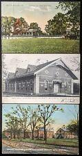 Lot of 13 Early 20thc Postcards: Baton Rouge, Louisiana - L.S.U. - Architecture