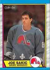 1989-90 O-Pee-Chee Joe Sakic Rookie Quebec Nordiques #113