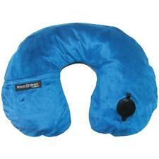 Travel Smart by Conair Ts44nvy EZ Inflate Fleece Neck Rest Navy